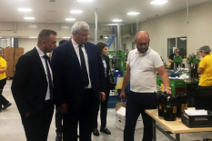 Ukrainian diplomats visited the new DEZEGA workshop in Izmir