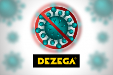 New DEZEGA products under the circumstances of coronavirus pandemic